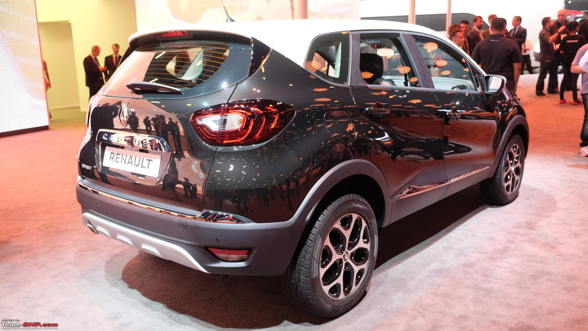 Renault teases captur suv now unveiled in india 2 jpg