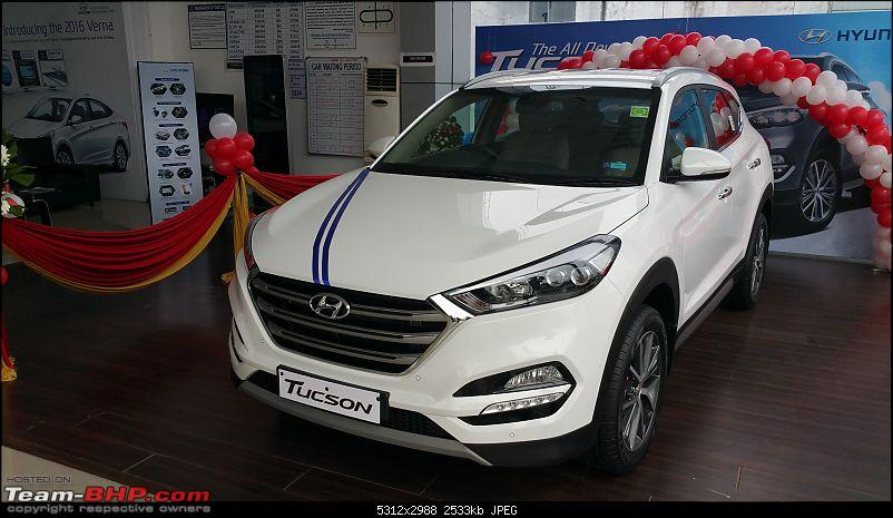 The 2016 Hyundai Tucson. EDIT: Launched-20161115_100715a.jpg