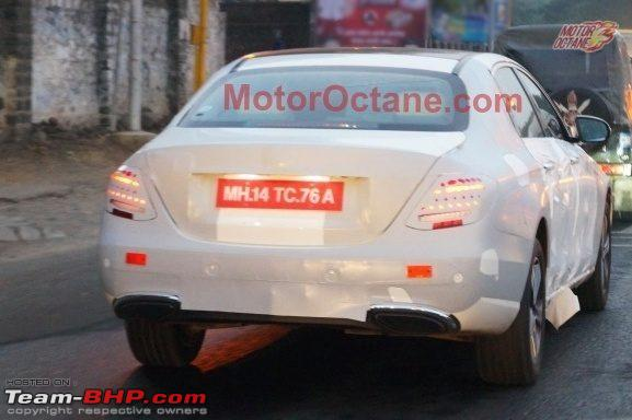 Name:  2016MercedesEClassW213rearspiedinIndia.jpg