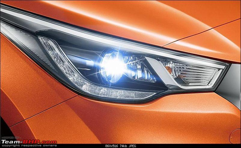 Hyundai India re-imports the next-gen 2017 Verna! EDIT: Unveiled in China-headlamp.jpg