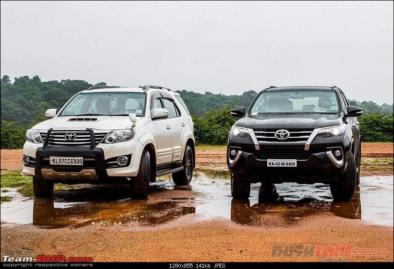Scoop! Next-gen Toyota Fortuner spotted. EDIT: Preview on page 14-toyotafortuneroldvsnew2.jpg