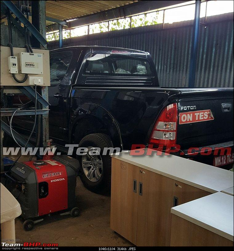 SCOOP Pics! Chinese Foton Tunland (Pick-Up) spotted testing near Pune-foton-watermark1.jpg