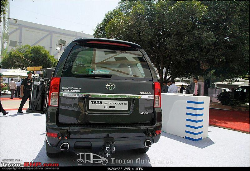 Indian Army's new official vehicle - the Tata Safari Storme!-tatasafaristormegs800rear.jpg