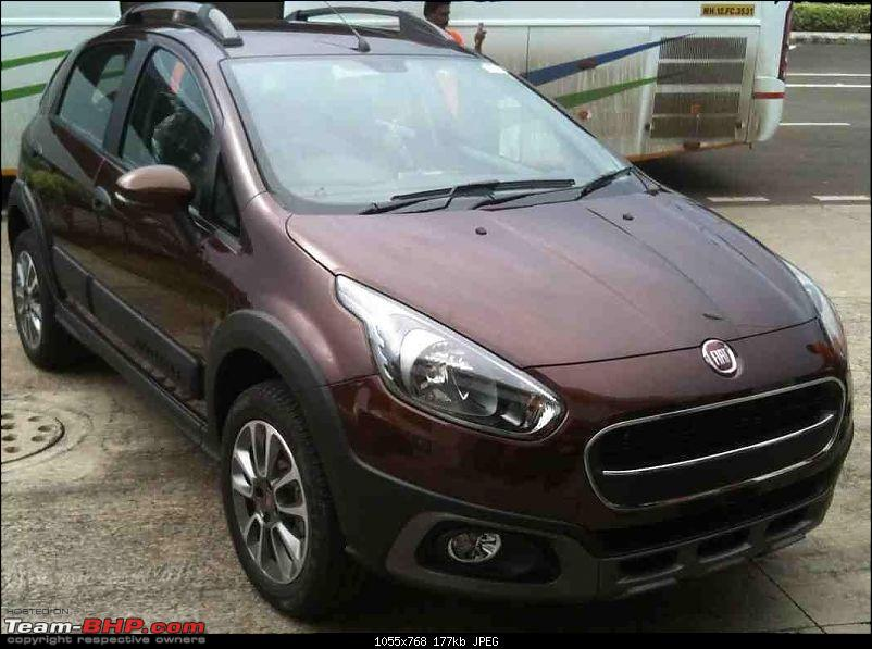 Fiat Urban-Cross to launch in September 2016. EDIT: Now launched @ Rs. 6.85 lakh-fiatavventurabronzotan.jpg