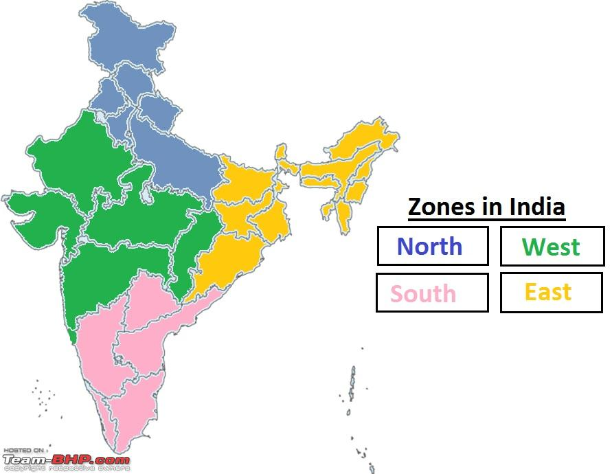 State wise car sales in india april 2016 to march 2017 fy17 indian map with zones state wise car sales in india april 2016 to march 2017 fy17 gumiabroncs Image collections