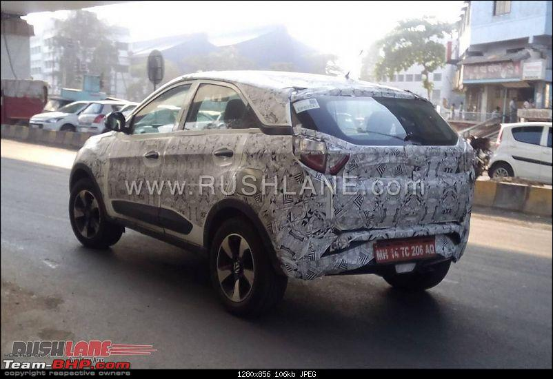 The Tata Nexon, now launched at Rs. 5.85 lakhs-tatanexonspiedpune3.jpg