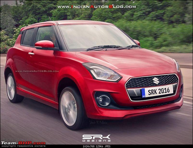 The 2018 next-gen Suzuki Swift-2017marutiswiftfrontiabrendering1024x768.jpg