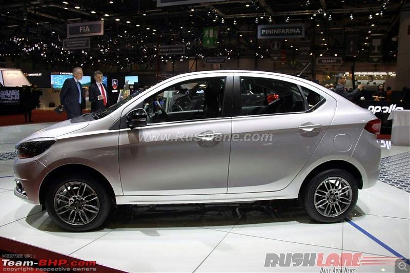Tata Tiago-based compact sedan. EDIT: Tigor launched at Rs 4.7 lakhs-tatakite5sedan2016genevamotorshowlivephotos5.jpg