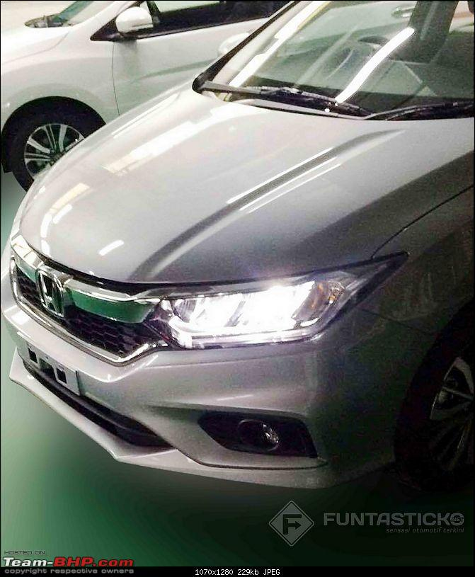 Honda working on City Facelift. EDIT: Launched at Rs 8.5 lakhs-2017hondacityfrontfascialeakedimage.jpg