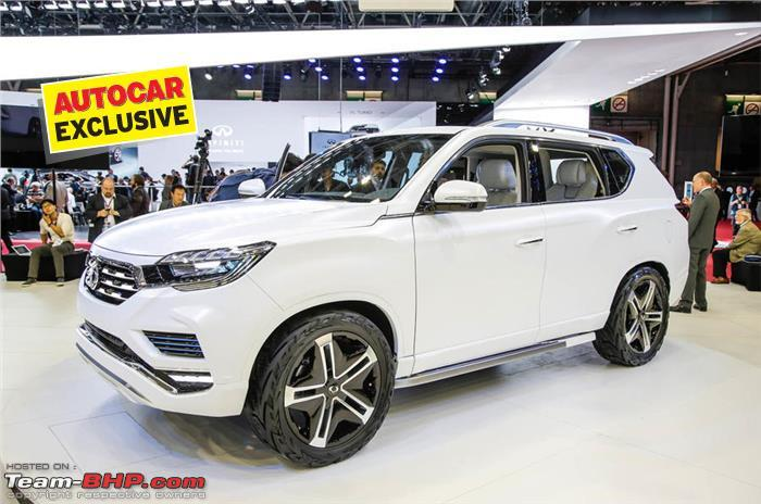 Next Gen Ssangyong Rexton To Be Sold As A Mahindra Suv In