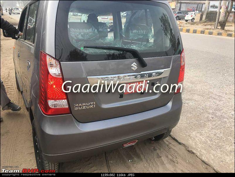 Stingray with WagonR badging and black & beige interiors. EDIT: It's a new top-end VXi+ variant-2017marutisuzukiwagonrlxivxi9.jpg