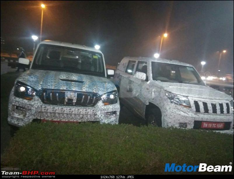 The Mahindra TUV300 Plus. EDIT: Selective deliveries started-newmahindracarsontest.jpg