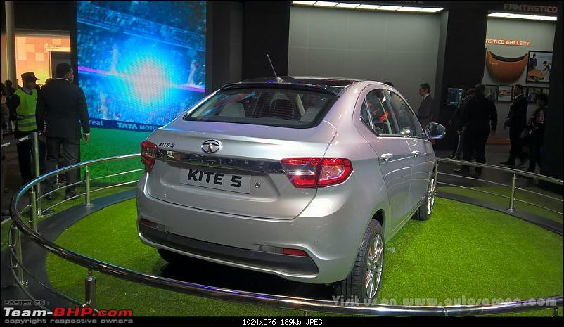 Tata Tiago-based compact sedan. EDIT: Tigor launched at Rs 4.7 lakhs-tatakite519.jpg