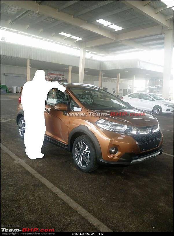 Honda WR-V production begins in India. EDIT: Launched at Rs. 7.75 lakh-5.jpg