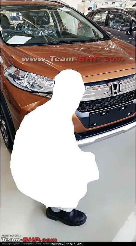 Honda WR-V production begins in India. EDIT: Launched at Rs. 7.75 lakh-1.jpg
