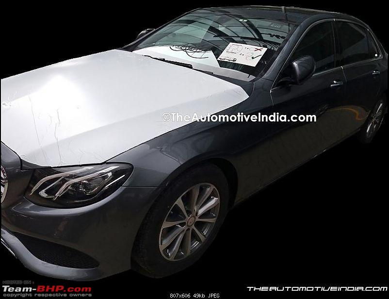 2017 Mercedes E-Class caught testing in India. EDIT: Launched at Rs. 56.15 lakh!-mercedesbenzeclasslwb.jpg