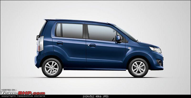 Stingray with WagonR badging and black & beige interiors. EDIT: It's a new top-end VXi+ variant-c3kqv2wiaaj9ir.jpg