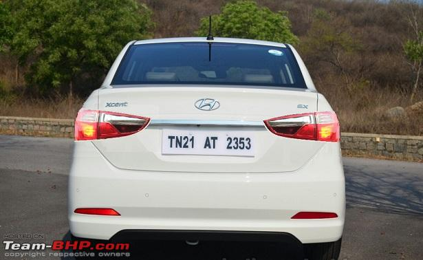 new car launches team bhpHyundai Xcent Facelift caught testing EDIT Launched at Rs 538