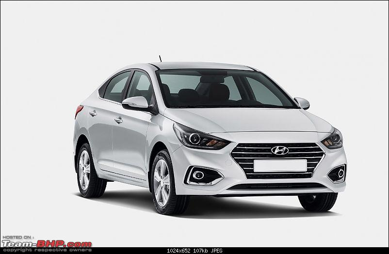 The 2017 Hyundai Verna. Launched at 8 lakhs, ex-showroom Delhi-2017hyundaivernaofficialimagefrontangle1.jpg