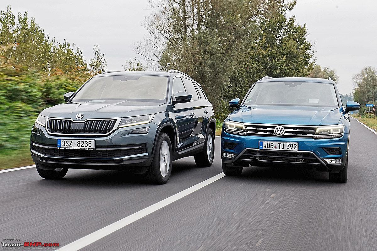 Volkswagen imports the Tiguan EDIT Launched at Rs 27 31 lakhs