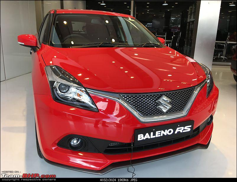 The Maruti Baleno RS: 1.0L turbo-petrol engine. EDIT: Launched at Rs. 8.69 lakh-img_4084.jpg