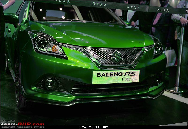 The Maruti Baleno RS: 1.0L turbo-petrol engine. EDIT: Launched at Rs. 8.69 lakh-2.jpg