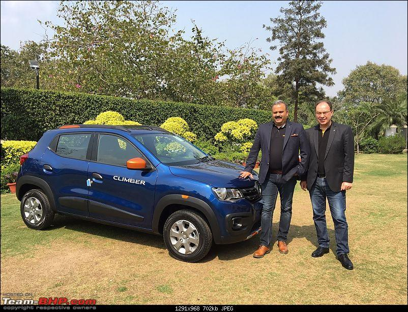 The Renault Kwid Climber edition. EDIT: Launched at Rs. 4.3 lakh-1.jpg