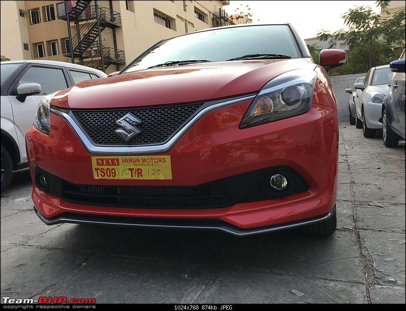 The Maruti Baleno RS: 1.0L turbo-petrol engine. EDIT: Launched at Rs. 8.69 lakh-imageuploadedbyteambhp1489154445.246531.jpg