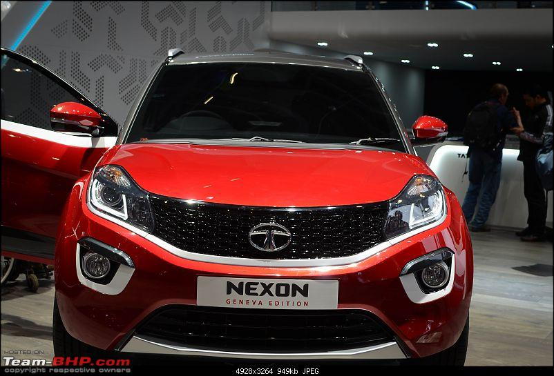 Tata's compact SUV, the Nexon. EDIT: Launched at Rs. 5.85 lakhs-dsc_01202.jpg