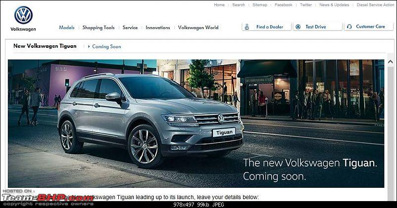 Volkswagen imports the Tiguan. EDIT: Launched at Rs. 27 - 31 lakhs-1.jpg