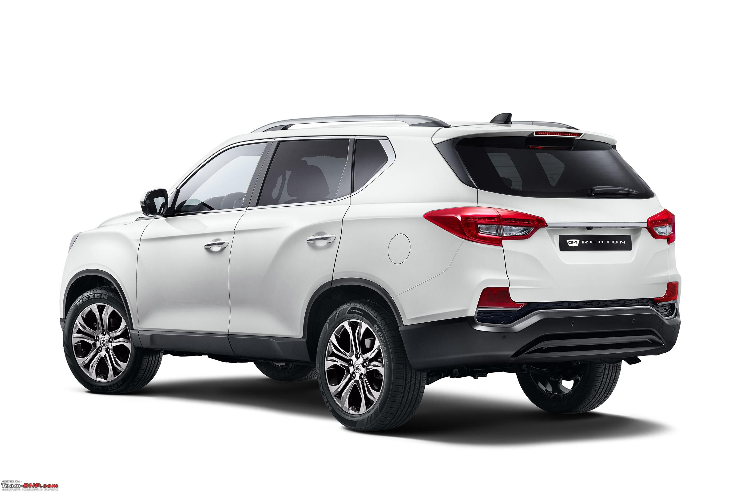 Next Gen Ssangyong Rexton Y400 To Be Sold As A Mahindra