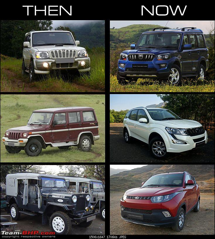 How some car manufacturers have evolved in just 5 - 10 years...and some haven't-mahindra1.jpg