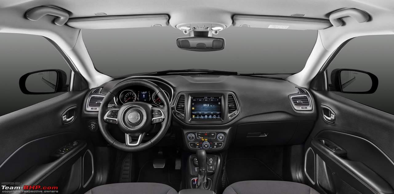 scoop 2017 jeep compass spotted in india page 18 team bhp. Black Bedroom Furniture Sets. Home Design Ideas