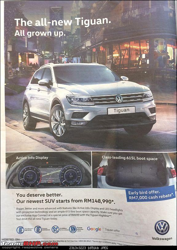 Volkswagen imports the Tiguan. EDIT: Launched at Rs. 27 - 31 lakhs-tiguan.jpg