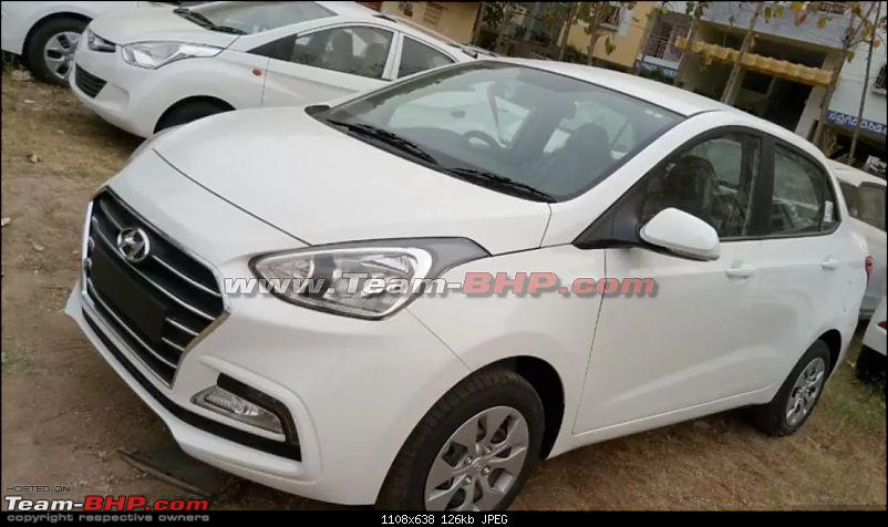 Hyundai Xcent Facelift caught testing. EDIT: Launched at Rs. 5.38 lakh-1.jpg