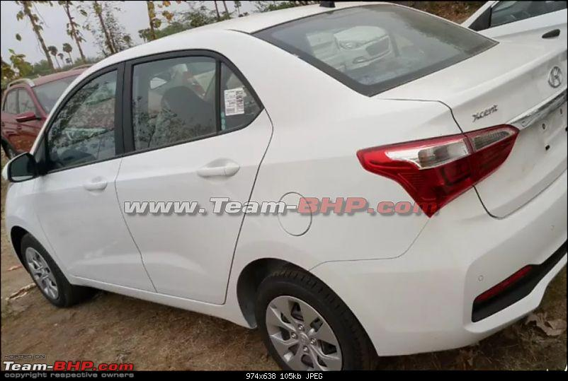 Hyundai Xcent Facelift caught testing. EDIT: Launched at Rs. 5.38 lakh-3.jpg