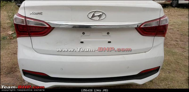 Hyundai Xcent Facelift caught testing. EDIT: Launched at Rs. 5.38 lakh-4.jpg
