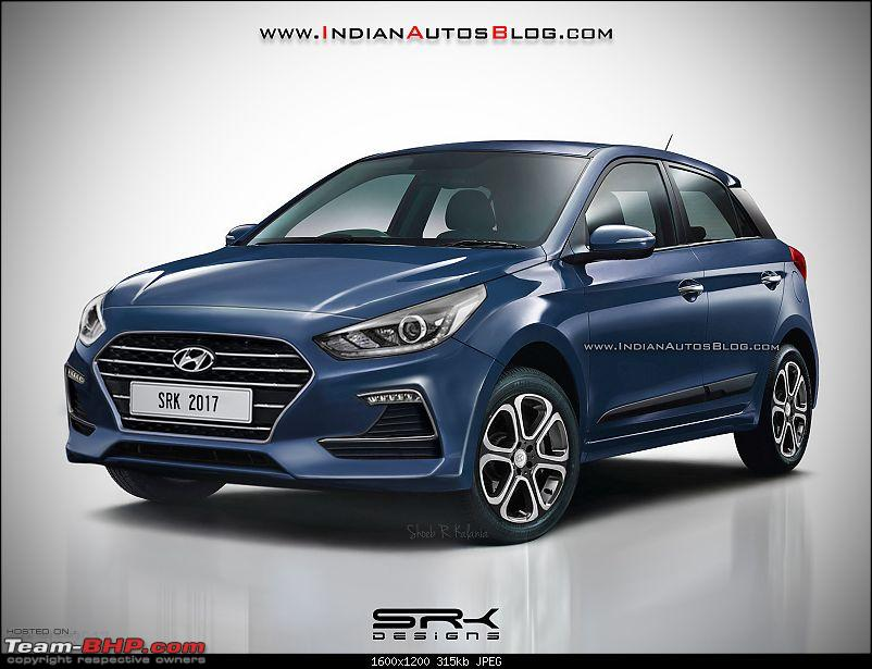Hyundai Elite i20 Facelift, now launched at Rs 5.35 lakhs-2018hyundaielitei20frontthreequarteriabrendering.jpg