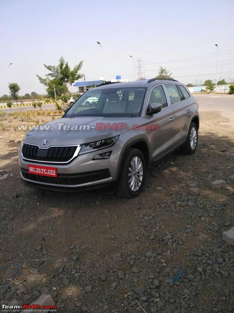 the skoda kodiaq edit now launched at rs lakhs page 9 team bhp. Black Bedroom Furniture Sets. Home Design Ideas