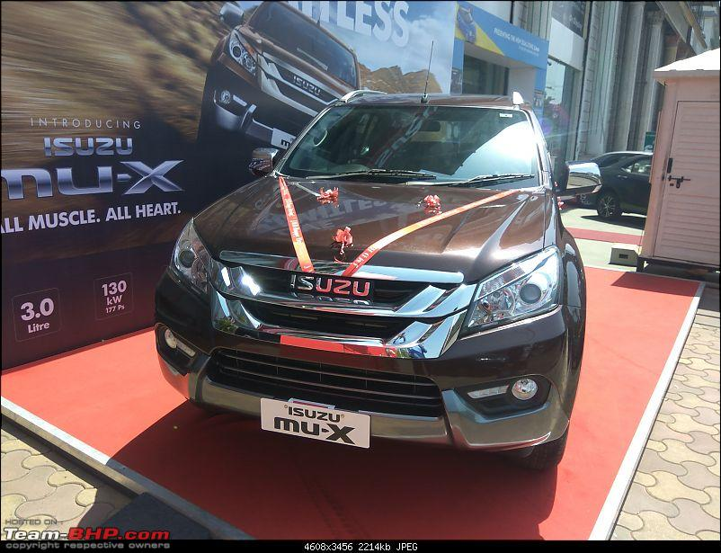 Isuzu planning to launch MU-X. EDIT: Launched at Rs. 23.99 lakhs-img_20170518_142332.jpg