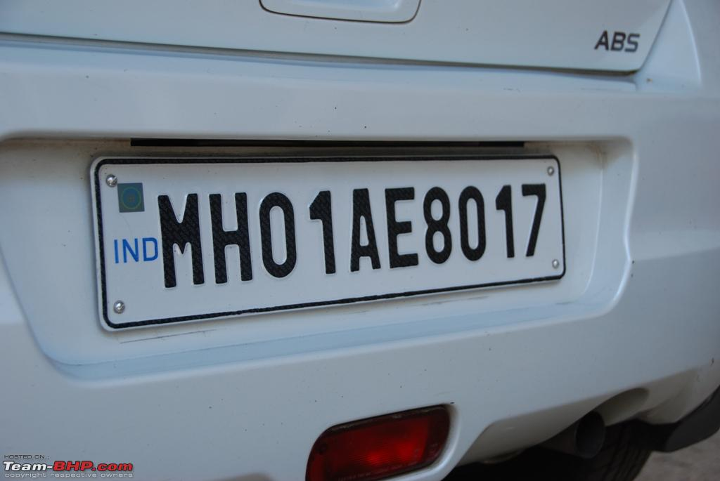 Cost Of A New Car Number Plate