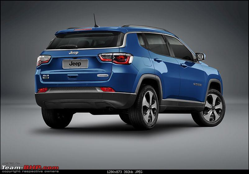 Meeting the Jeep Compass. EDIT: Priced between 14.95 to 20.65 lakhs-2017jeepcompasslongituderearquarterunveiled.jpg