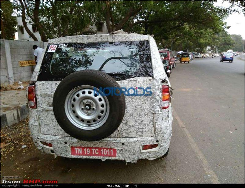 The Mahindra TUV300 Plus. EDIT: Selective deliveries started-mahindratuv500spiedexclusive2941x706.jpg