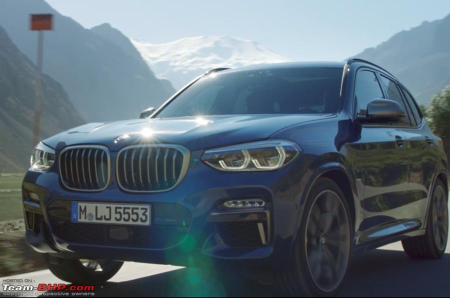 The Next Generation Bmw X3 G01 Screen Shot 20170624 At 20 51 06 Png