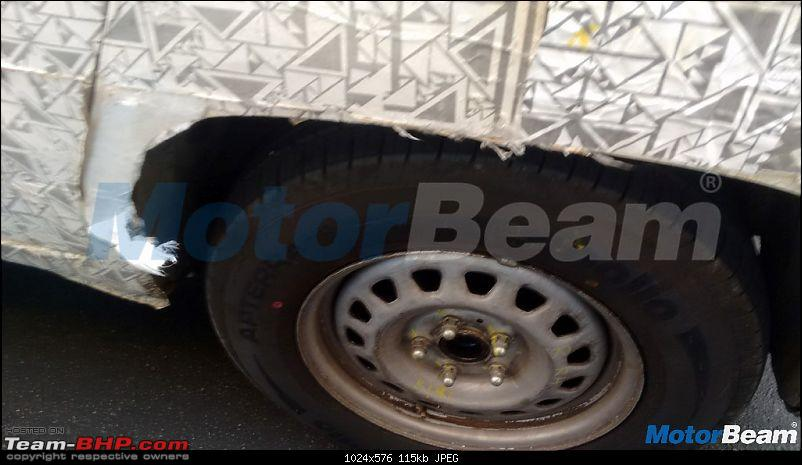 The Mahindra TUV300 Plus. EDIT: Selective deliveries started-mahindratuv500reartyre.jpg