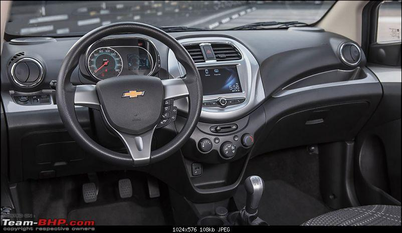 Chevrolet to stop selling cars in India? EDIT: Confirmed on page 8-2018chevroletbeatdashboard.jpg