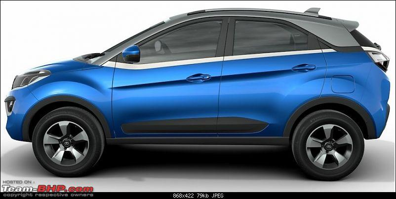 The Tata Nexon, now launched at Rs. 5.85 lakhs-tatanexonsideview.jpg