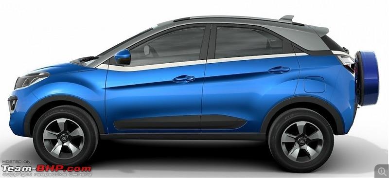 Tata's compact SUV, the Nexon-tatanexonsideview_2.jpg