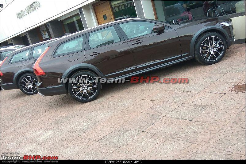 Volvo V90 Cross Country spotted in Mangalore. EDIT: Launched at Rs. 60 lakh-img_20170629_165718.jpg