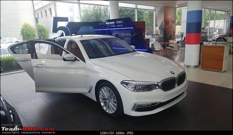 The next-gen BMW 5-Series (G30). EDIT: Launched at Rs. 49.90 lakh-img_9351.jpg